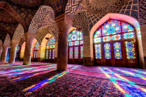 Pink-Mosque-In-Shiraz-Iran